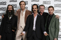 Nick Cave & The Bad Seeds на вручении наград Mojo
